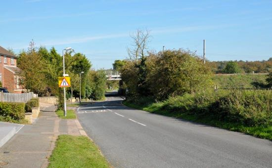 Photograph of Bulls Lane in 2011, photograph by Mike Allen