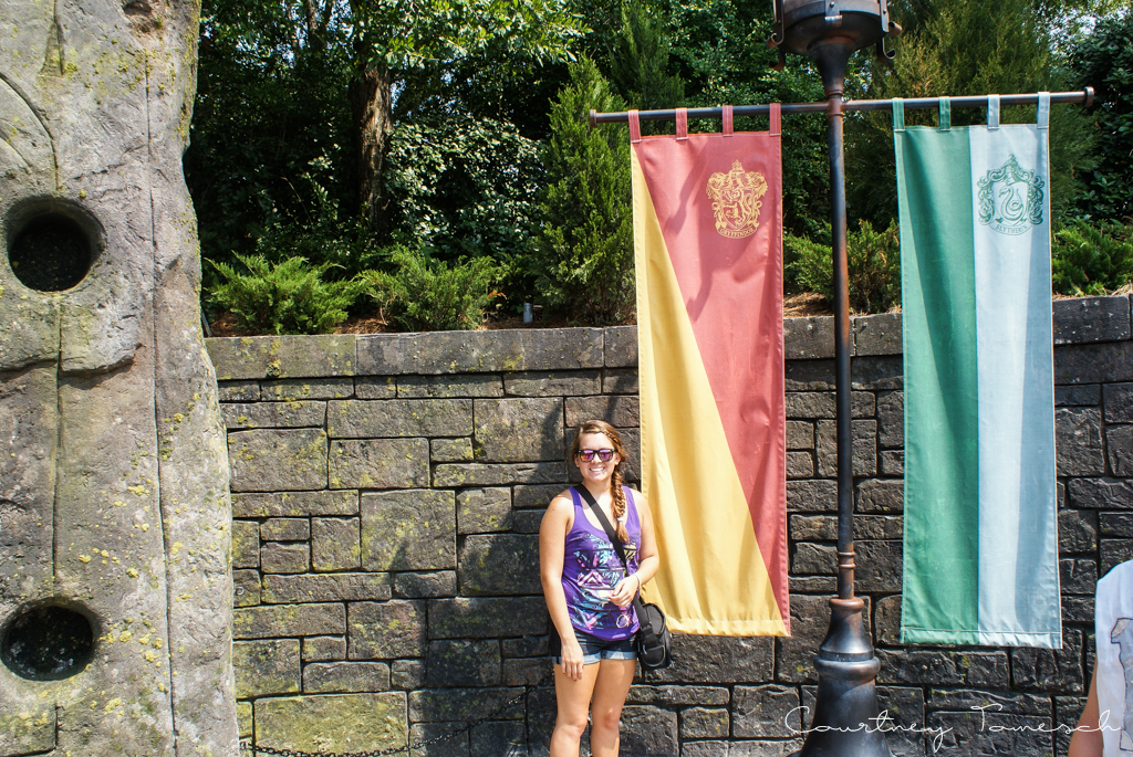 Courtney Tomesch Wizarding World of Harry Potter Orlando Florida