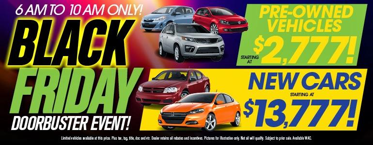 Car Dealerships Black Friday Las Vegas