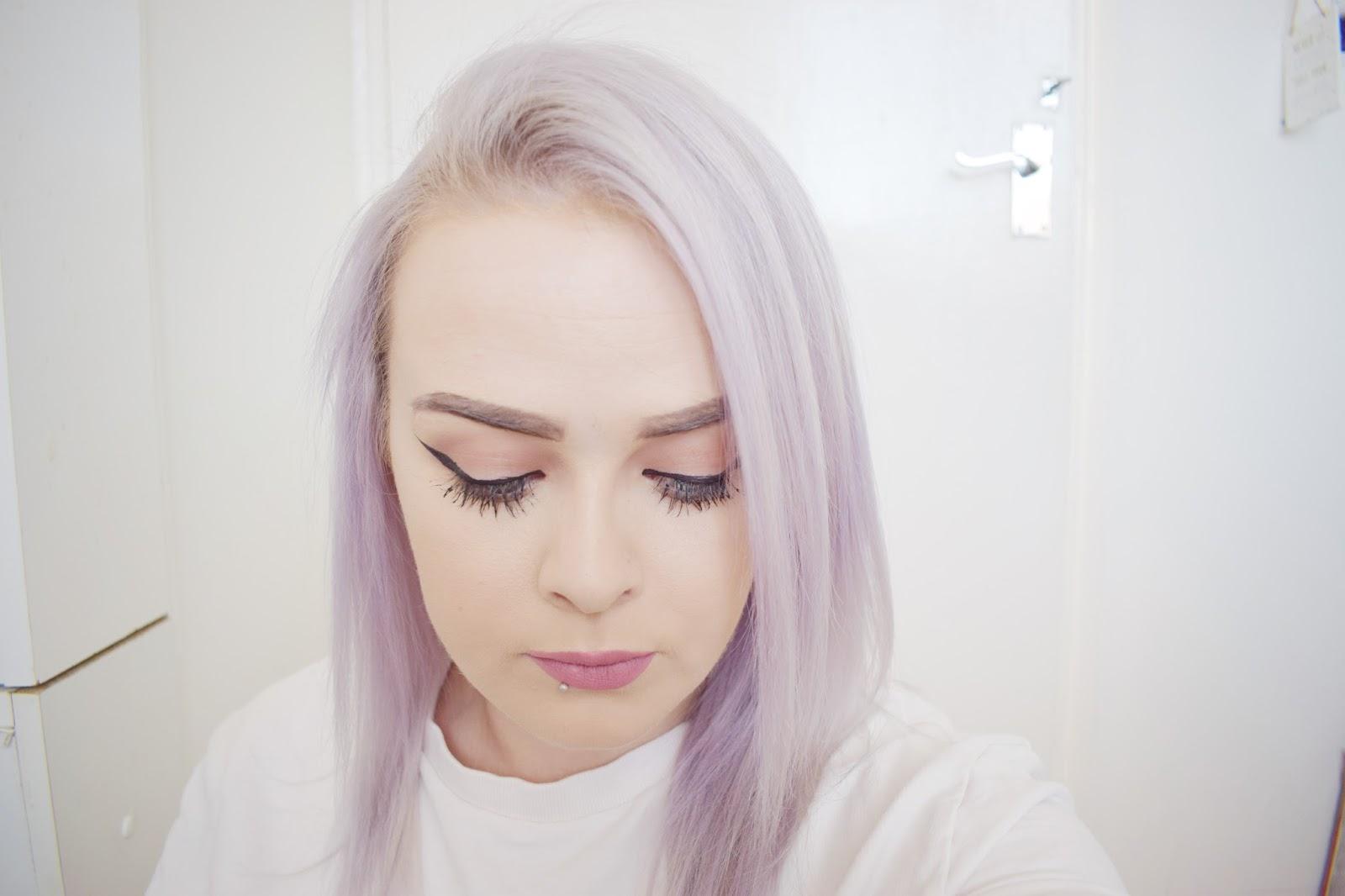 Scott Cornwall review lilac grey hair dye toner