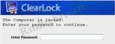ClearLock Software