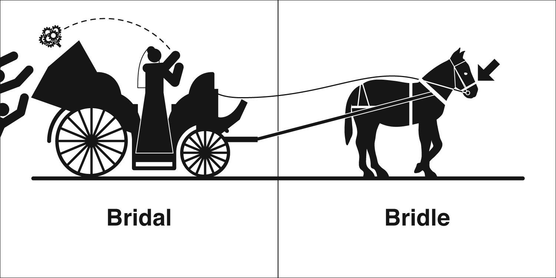 Homophones, Weakly: Bridal & Bridle