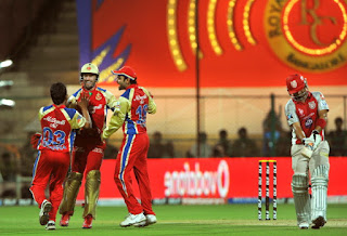RCB vs KXIP Live Streaming
