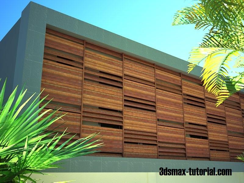 Desain Rumah Minimalis Dengan 3ds Max  3ds max vray setting for realistic render desain rumah