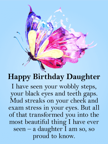 200+ Happy Birthday Daughter Inspirational Wishes, Quotes