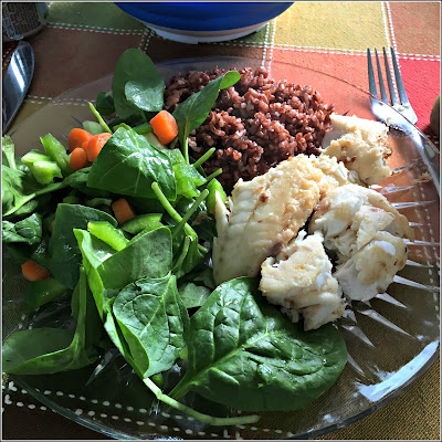 January 18, 2019 Finding great joy in a simple meal.