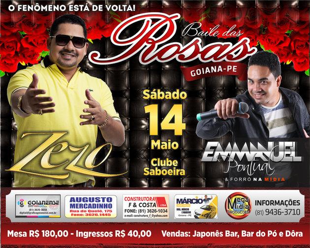 Mega Mídia produções promove o Baile das Rosas neste sábado