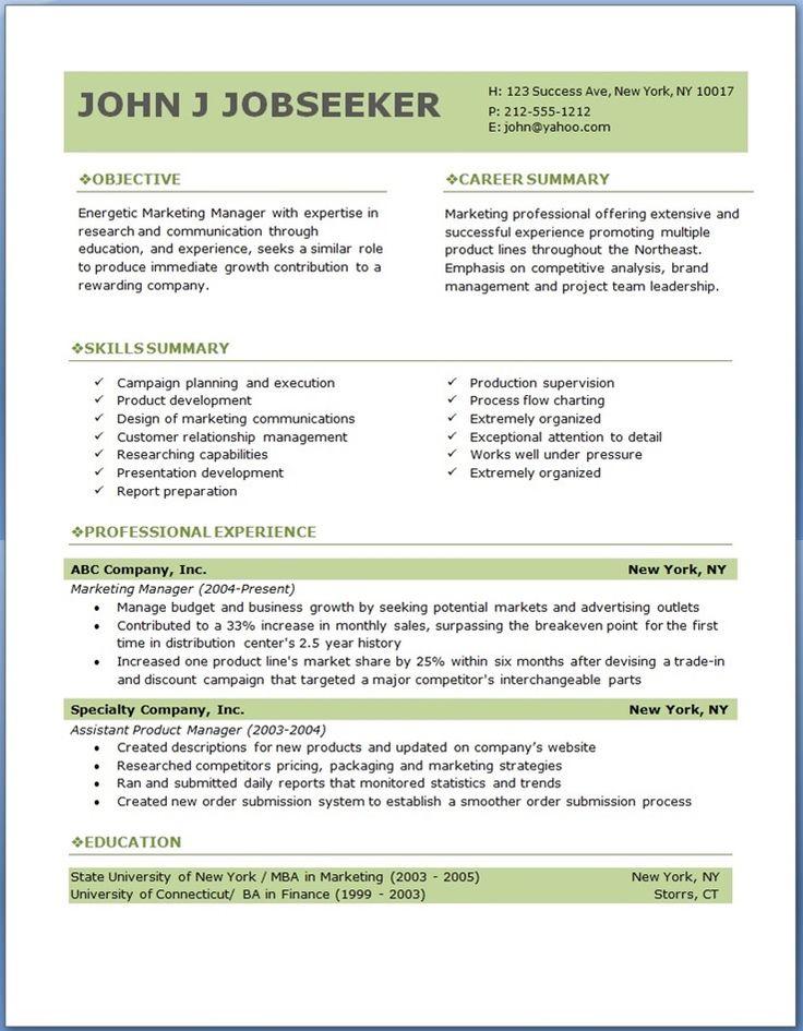 Resume Sample – Senior Level Executive