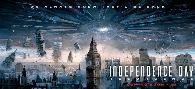 La caza ha comenzado en el nuevo anuncio de 'Independence Day: Contraataque'