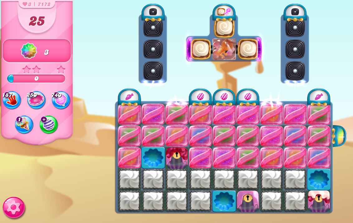 Candy Crush Saga level 7172
