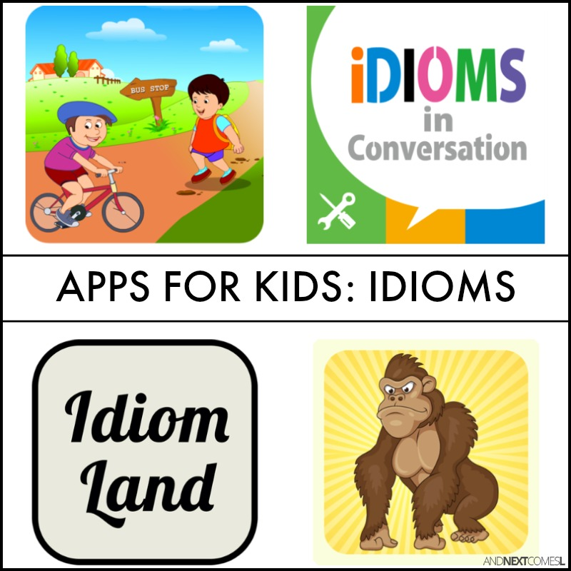 idioms for kids with meaning - photo #25