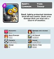 Clash royale deck bomber card