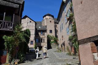 Conques. Castell d'Humières