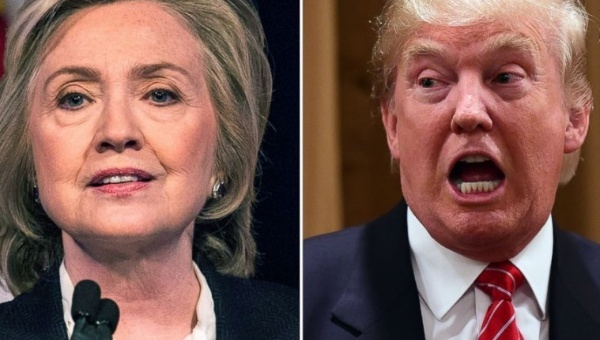Clinton gana terreno frente a Trump en Estados Unidos