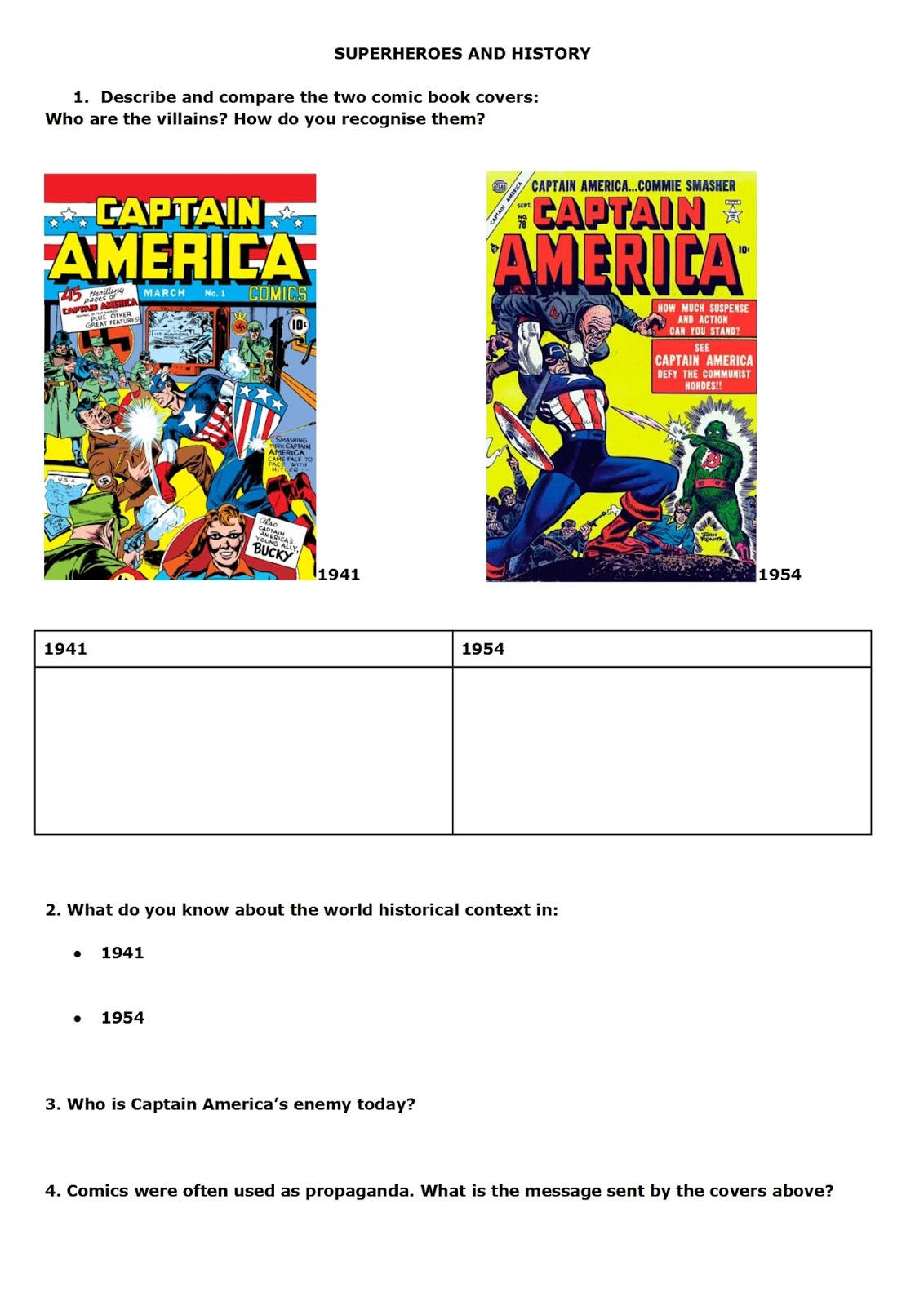 Teaching Technical English Superheroes And History The