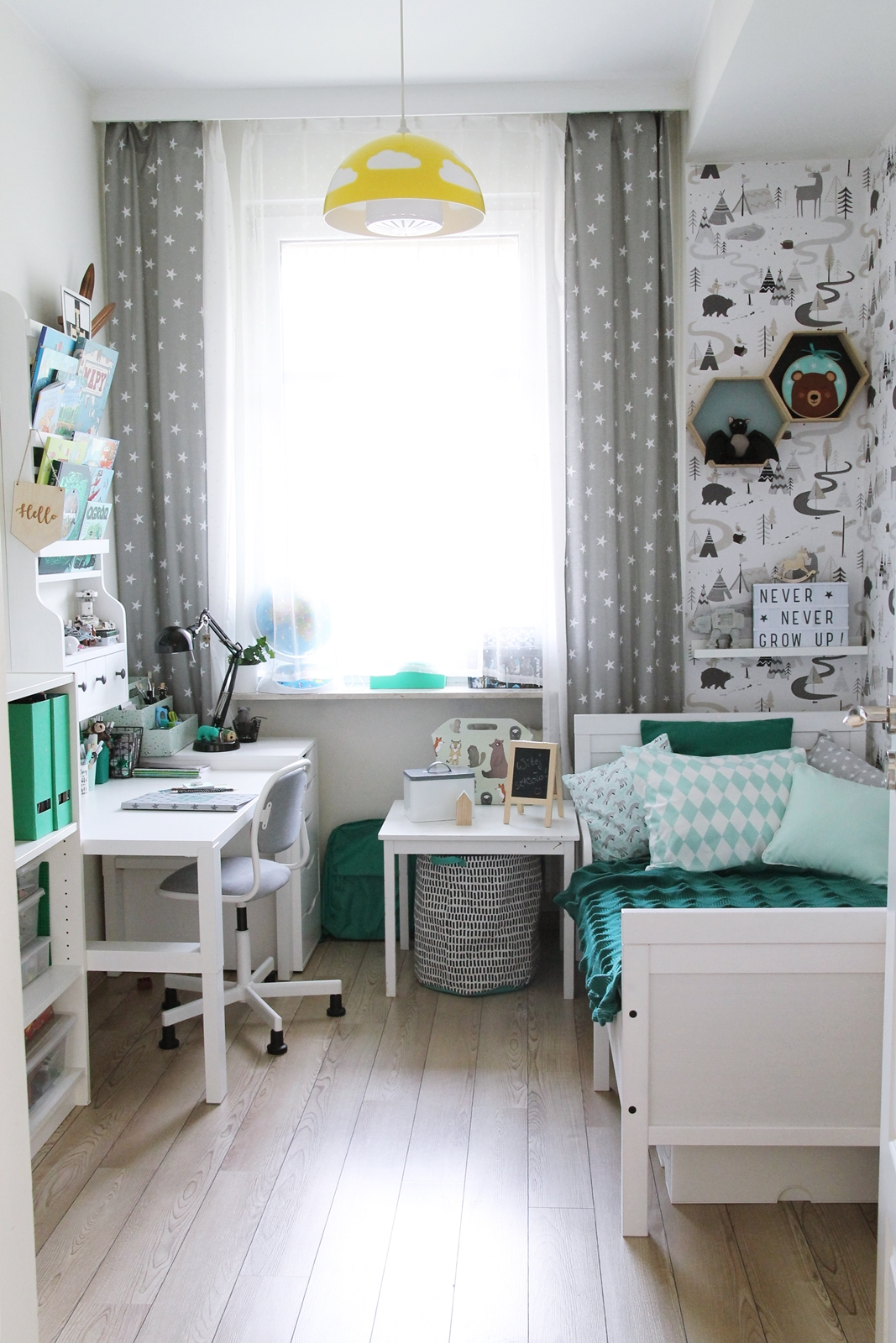 Boy room, schoolboys room, scandinavian kids room, scandi, nordic