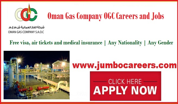 Oman gas company jobs for Indians, Recent Oman jobs with salary and benefits,