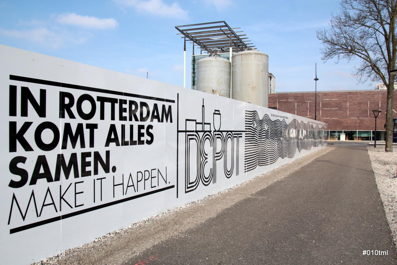 Dan is die van Rotterdam tenminste gewoon foutloos gespeld