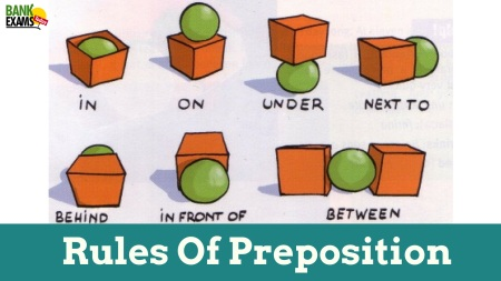 Rules Of Preposition With Examples