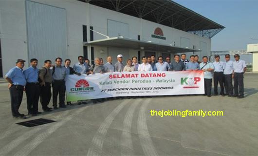 Lowongan Kerja Terbaru PT Sunchirin Industries Indonesia Bulan November 2018