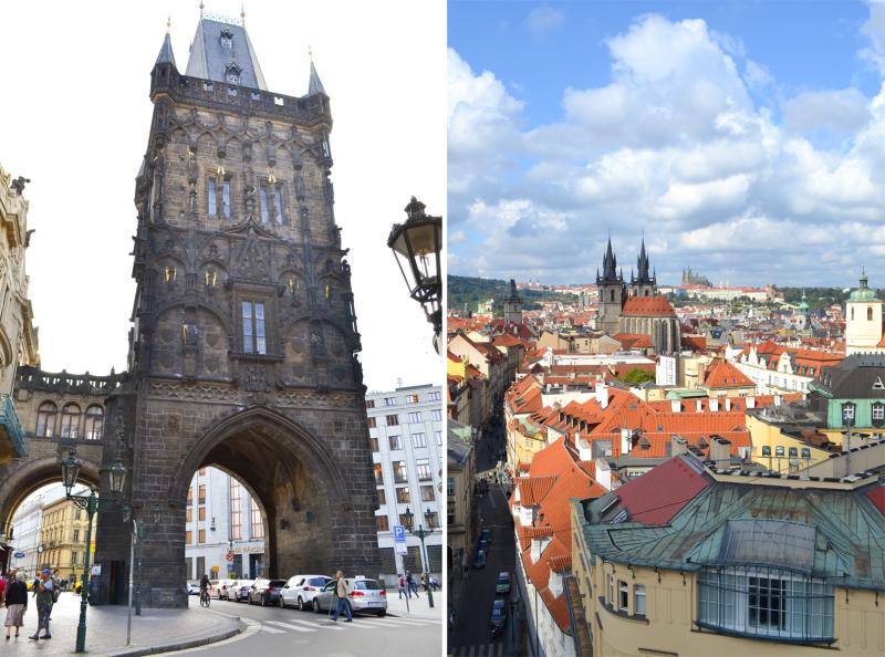 Praga widok na rynek