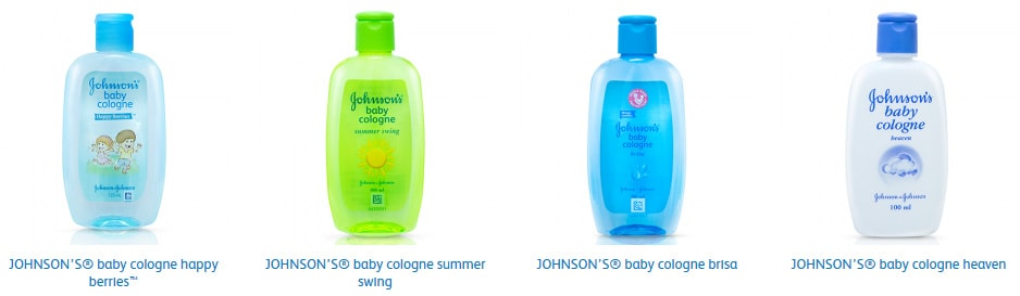 Produk Baby Cologne