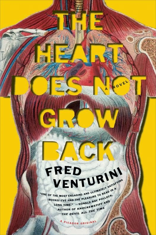 2014 Debut Author Challenge Update - The Heart Does Not Grow Back by Ken Venturini