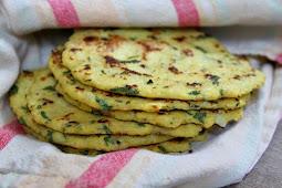 Cauliflower Tortillas #recipe #veganvegetarian