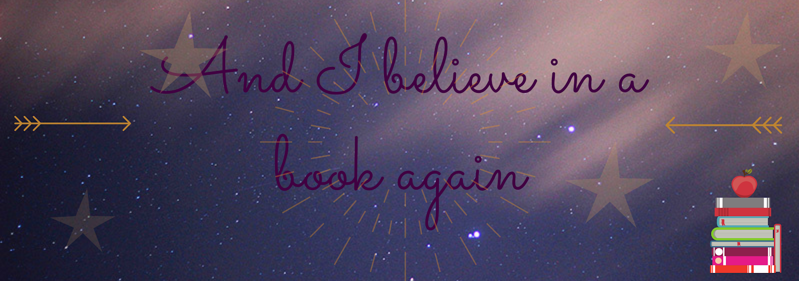 And I believe in a book again