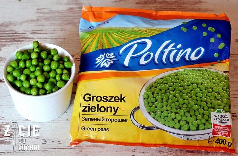 poltino, zielony groszek, zycie od kuchni