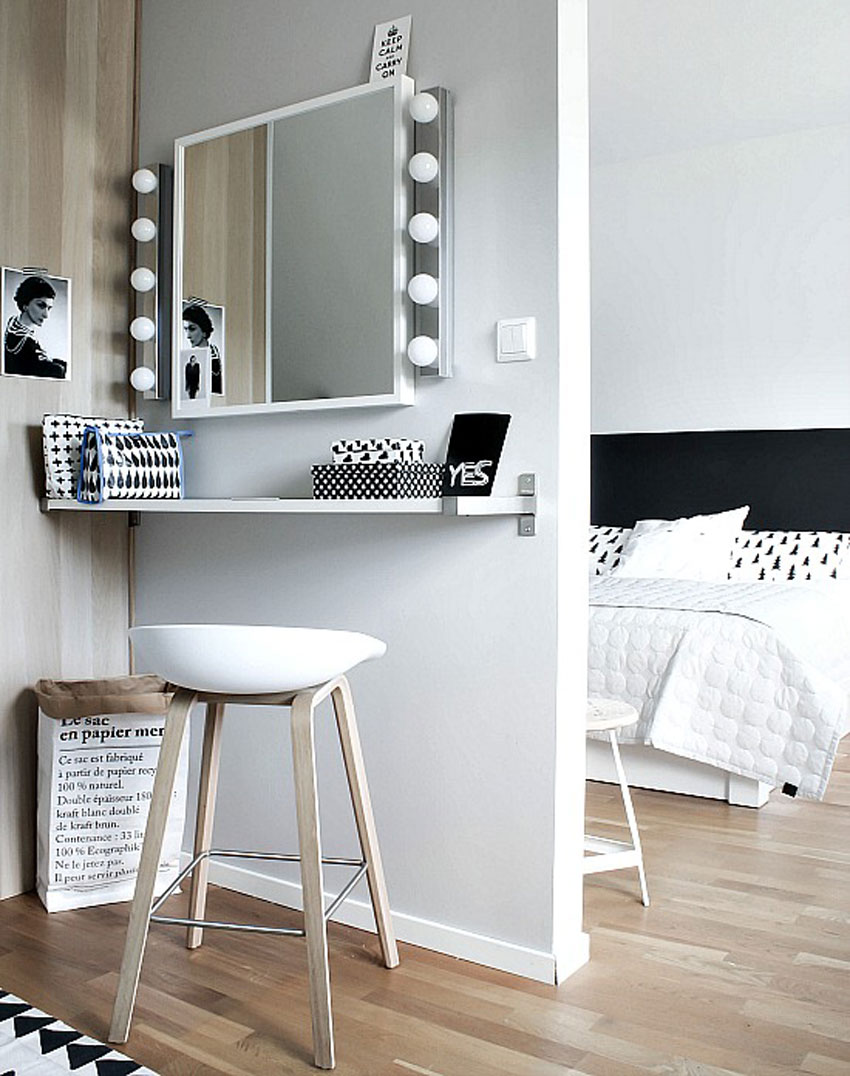 tocador dormitorio decoración nórdica