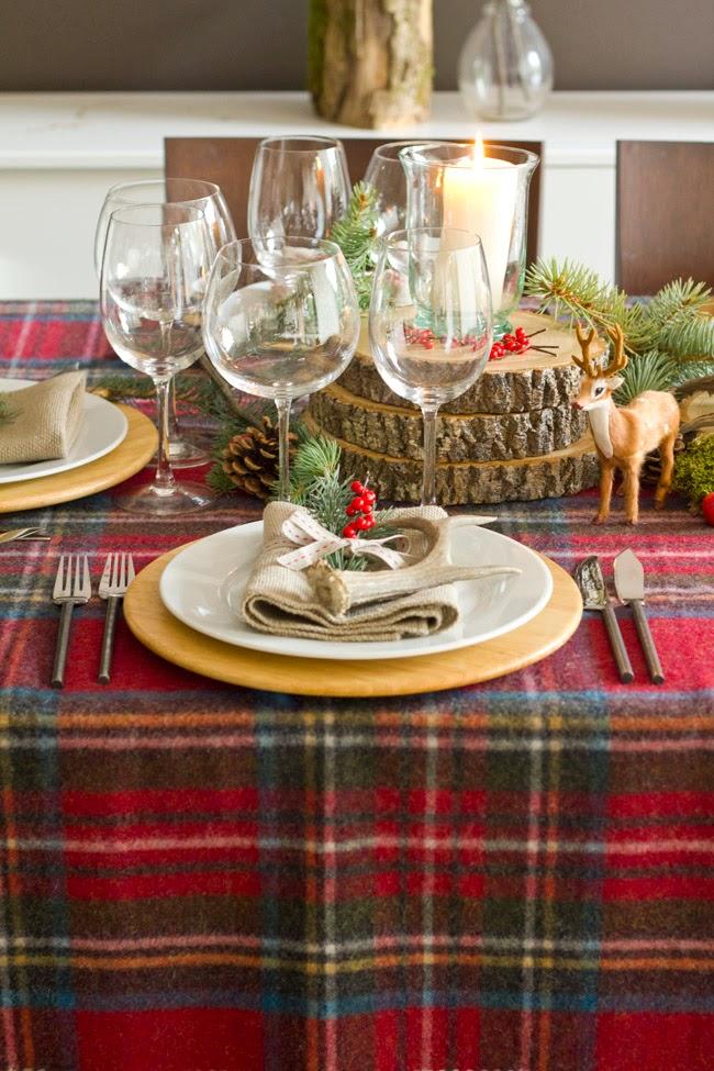 Decoraci n f cil decoracion de mesa de navidad con estilo - Decoracion de mesa en navidad ...