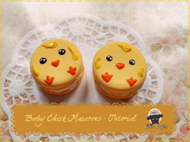 http://cirriacrafts.blogspot.de/2014/07/baby-chicken-macaron-tutorial-air-dry.html