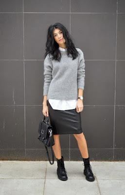 Botas con Faldas de Moda