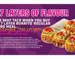 image about Fuddruckers Coupons Printable called Taco bell totally free discount codes printable : 6 flags chicago foodstuff