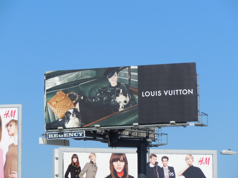 Louis Vuitton Fall 2011 billboard