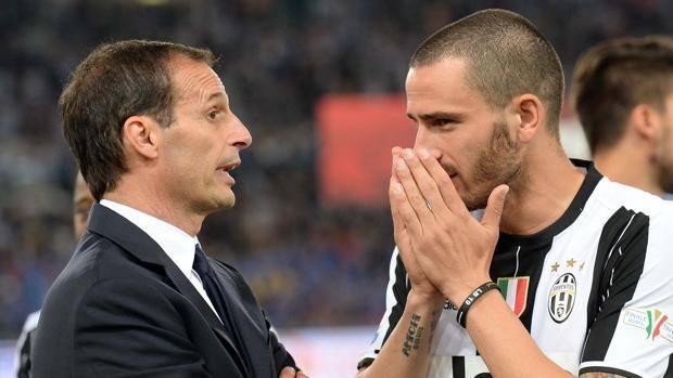 Allegri Dituding Penyebab Bonucci Pindah AC Milan