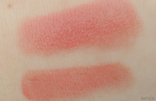 Chanel rouge coco stylo jolie lettre swatch