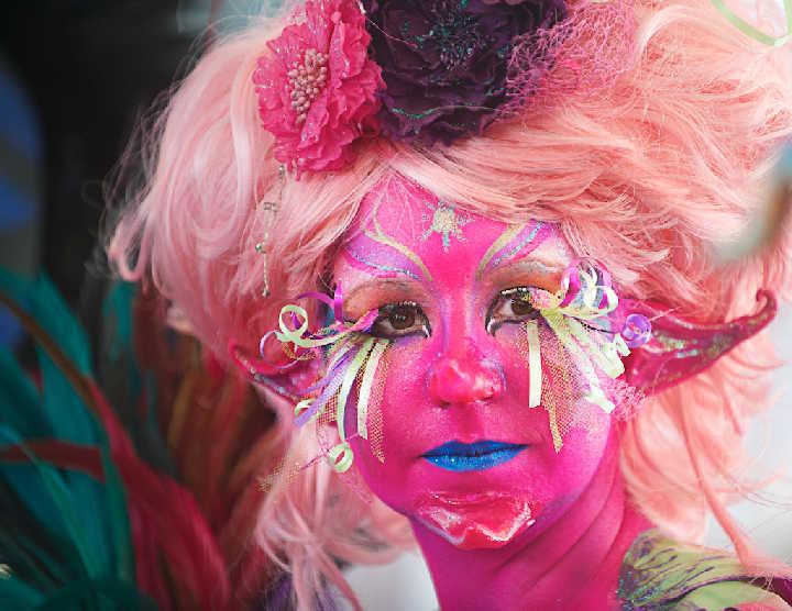 Австралийский бодиарт карнавал 38