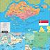Peta Negara Singapura Lengkap dengan Kota, Sumber Daya Alam, Batas Wilayah dan Keterangan Gambar Lainnya