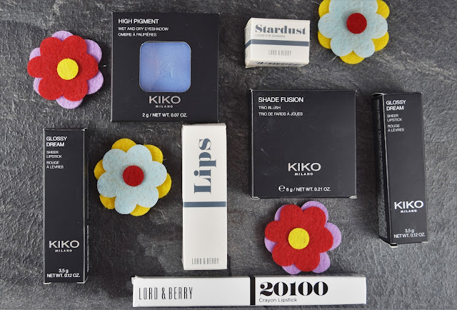 Kiko and Lord & Berry Haul