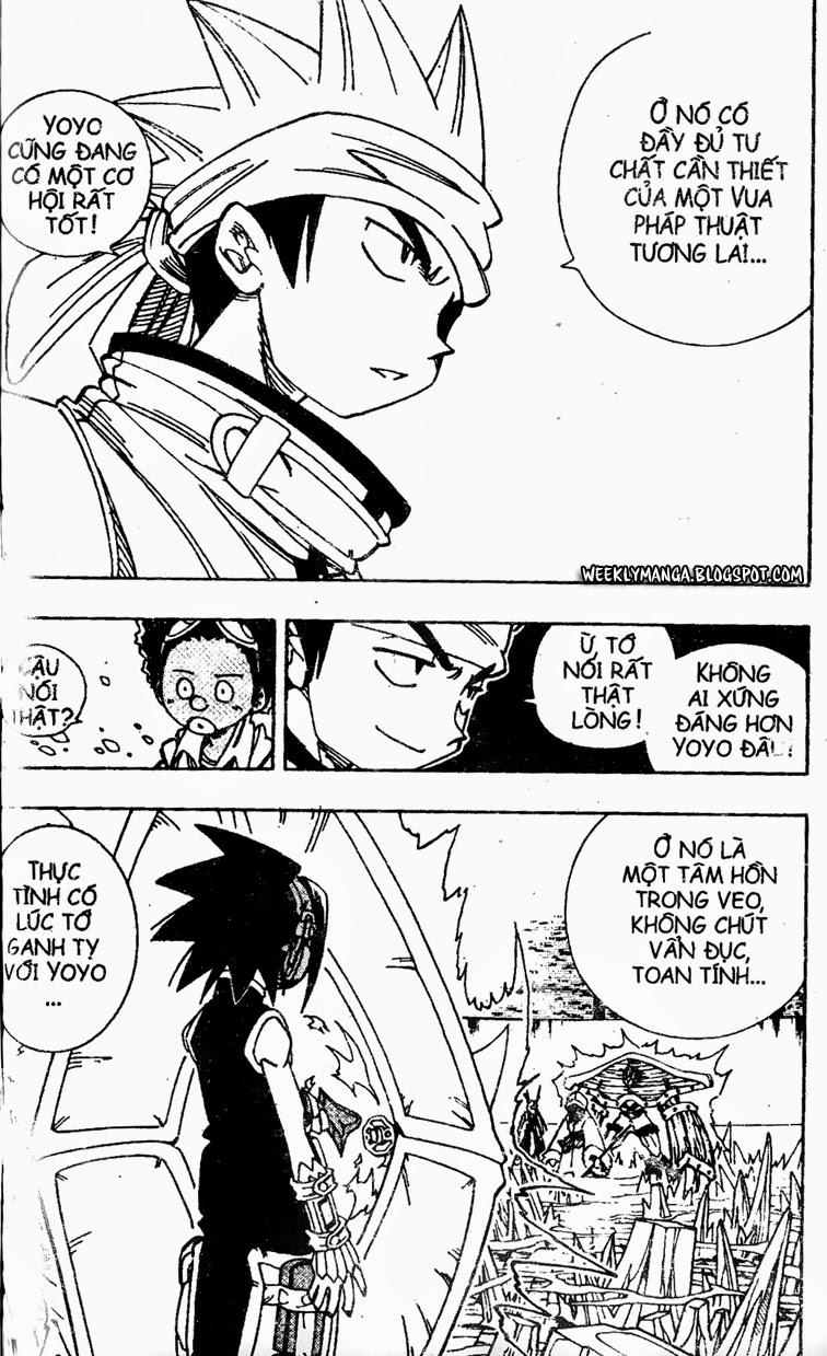 Shaman King [Vua pháp thuật] chap 134 trang 7