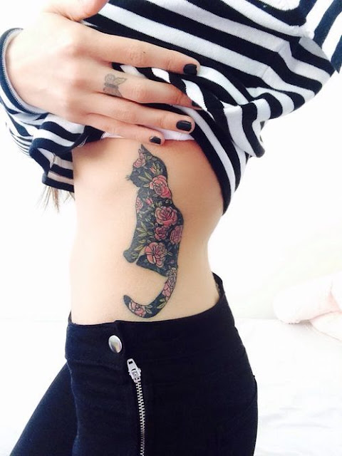 Stunning Cat Tattoos For Girls