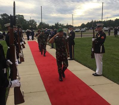 Kasad Hadiri Chief Of Defence Conference Di Washington