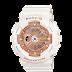 นาฬิกาข้อมือผู้หญิง CASIO สีขาว นาฬิกา BABY-G BA-110-7A1 สายเรซิน