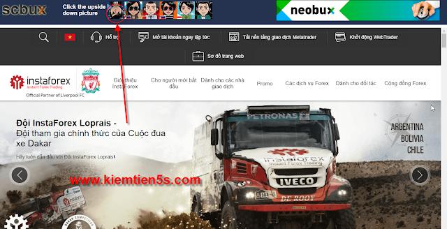 Click quảng cáo scbux