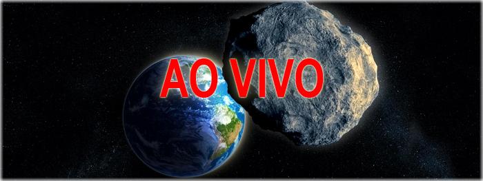 transmissão ao vivo - máxima aproximação do astroide 3200 faetonte com a Terra
