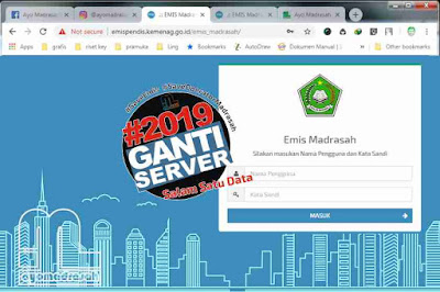 Jadwal Update Emis 2018/2019