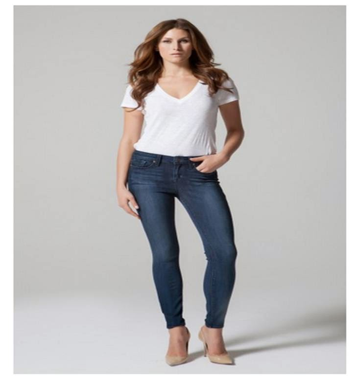 Fashion Model wearing Parker Smith Jeans