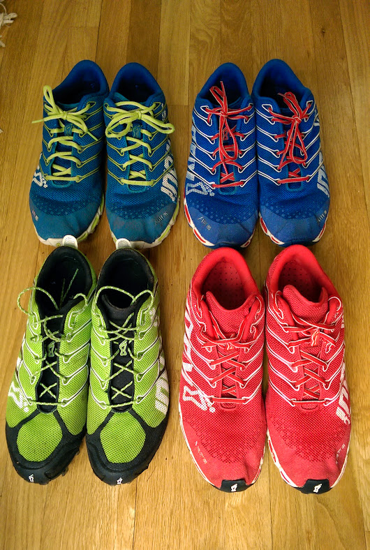 My favorite running shoes on sale right now at - inov-8